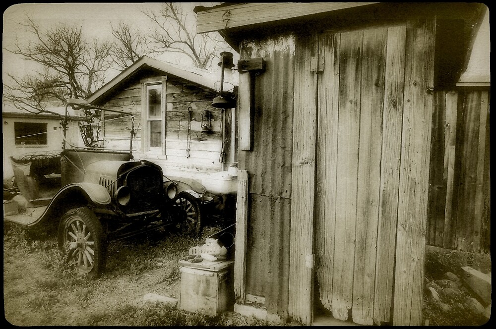 Old Ford by Gina Dazzo