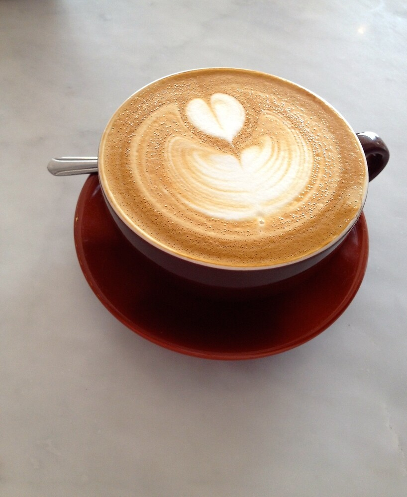 Coffee Love by Gina Dazzo