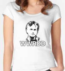 What Would Richard Dawkins Do? Women's Fitted Scoop T-Shirt