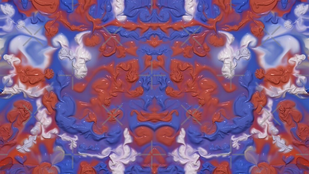 Abstract 1 (Paint Swirl Series) by Glenn Slingsby