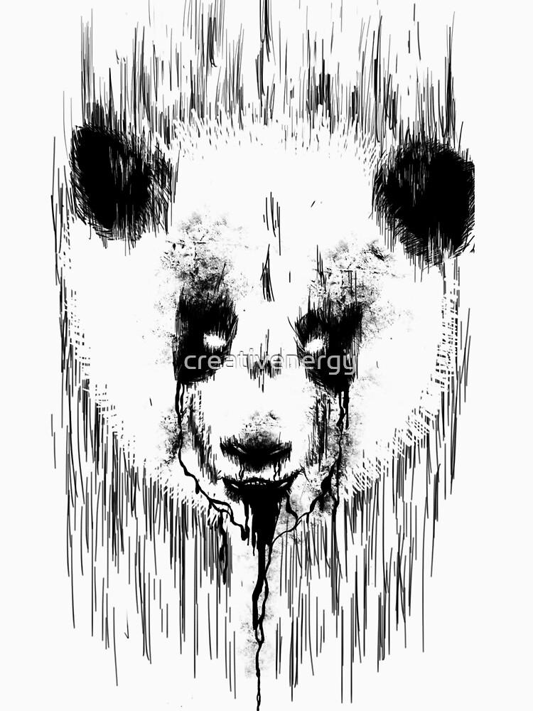 Creepy Panda by creativenergy