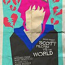 Scott Pilgrim Verses The World - Saul Bass Inspired Poster by Alex Clark