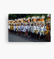 Balinese Festival Canvas Print