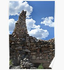 Hermit's Rest chimney, Grand Canyon National Park Poster
