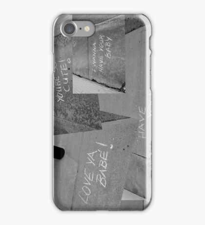 Sidewalk Love iPhone Case/Skin