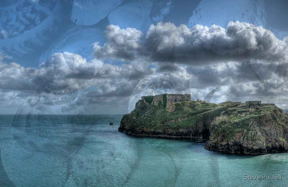 St Catherines Rock Tenby Pembrokeshire 4 by Steve Purnell