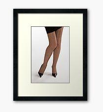 Glamour legs 1 Framed Print