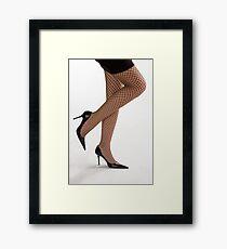 Glamour legs 2 Framed Print