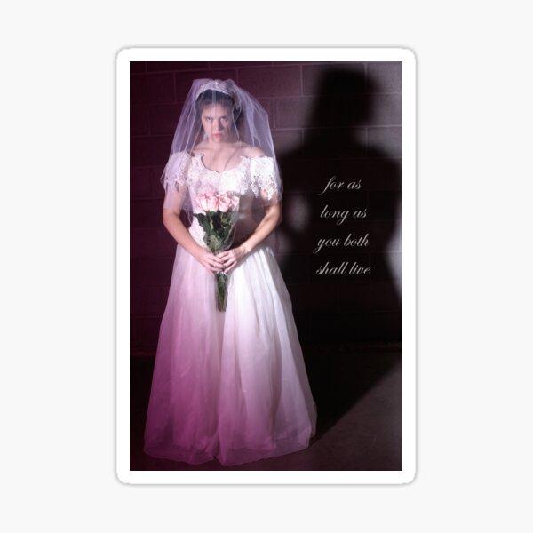 The Bride Sticker