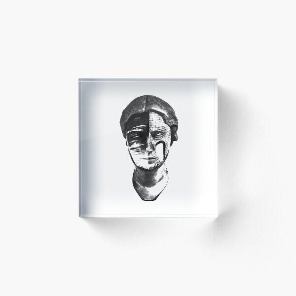 Dali Head Acrylic Block