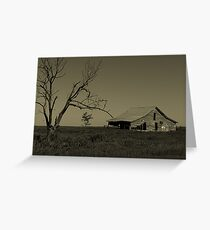 Golden Past Greeting Card