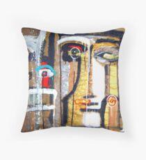 masks of night skies 14 Throw Pillow