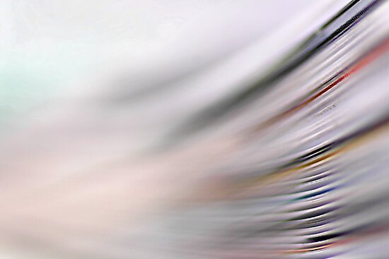Yesterday's news is already fading away... by Bob Daalder