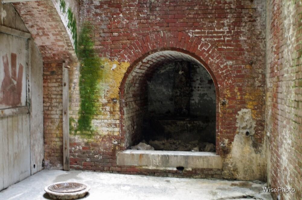 Alcatraz Fireplace by WisePhoto