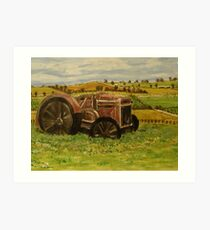 Barossa Valley Art Print