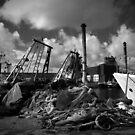 Marsa Port, Grand Harbour, Malta by Anthony Vella