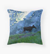 Albion Basin 2, UT Throw Pillow