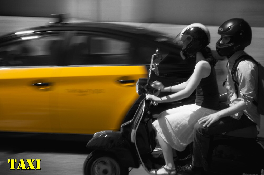 Taxi by andyallenby