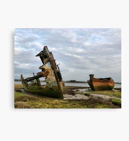 Fleetwood Wrecks. Canvas Print