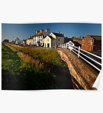 Allonby, Looking North Towards Silloth, Cumbria Poster