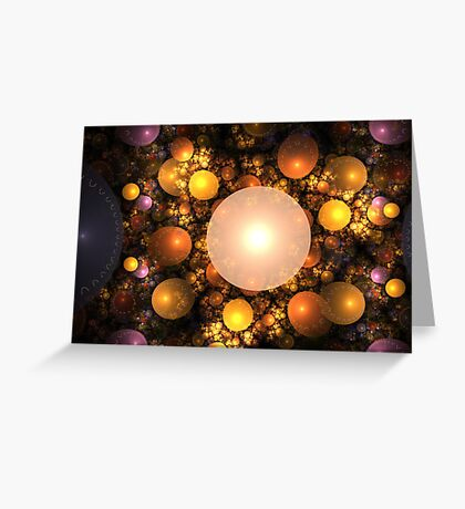 Conglomeration Greeting Card