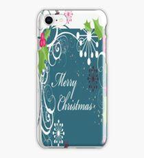 Merry Christmas iPhone 4/4S Skin iPhone Case/Skin