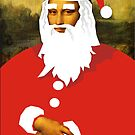 smiley santa by Matt Mawson