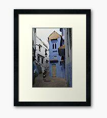 Chefchaouen Blue II Framed Print