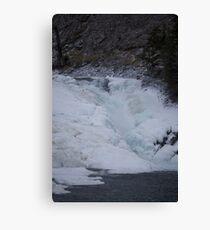 Bow Falls in Banff Alberta Canvas Print