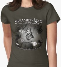 Steaming Mad Boiler Repair Womens Fitted T-Shirt