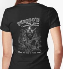 Nemo's Deep Ocean Trading Company Womens Fitted T-Shirt