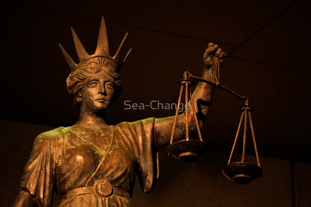 The Scales of Justice by Sea-Change