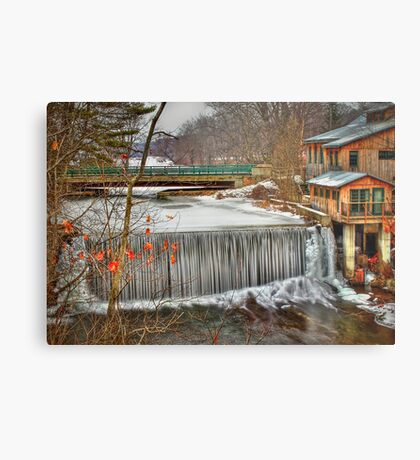 Icy Conditions Metal Print