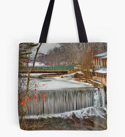 Icy Conditions Tote Bag