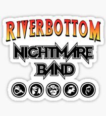 Riverbottom Nightmare Band Sticker