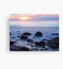 Sunset Moments Canvas Print