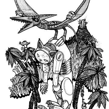 pterodactyl pilot by Adew