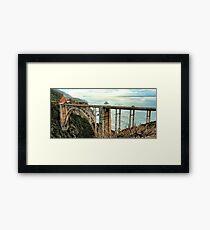 The Bixby Bridge Framed Print
