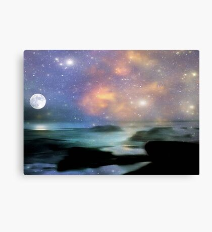Ocean Magic © Canvas Print