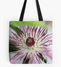 White Clematis Tote Bag