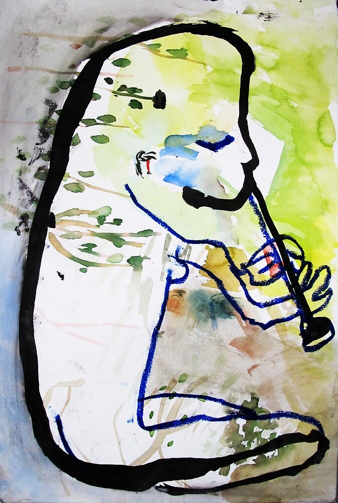 Svea plays the flute by donna malone