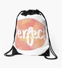 One Direction - Perfect, Circle  Drawstring Bag