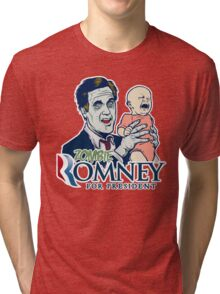 Zombie Romney For President Tri-blend T-Shirt