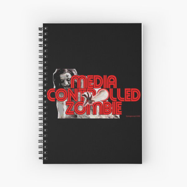Media Zombies Spiral Notebook