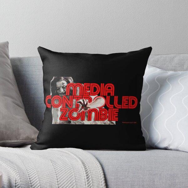 Media Zombies Throw Pillow