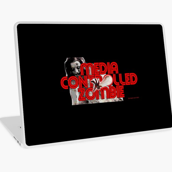 Media Zombies Laptop Skin