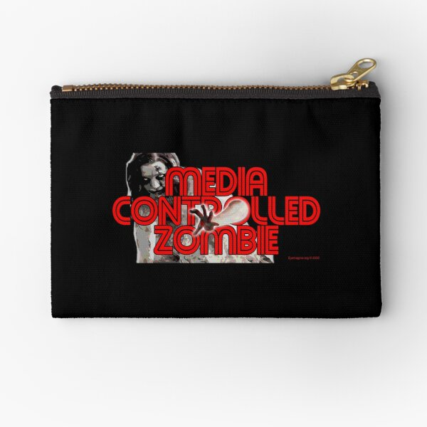 Media Zombies Zipper Pouch
