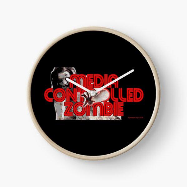 Media Zombies Clock