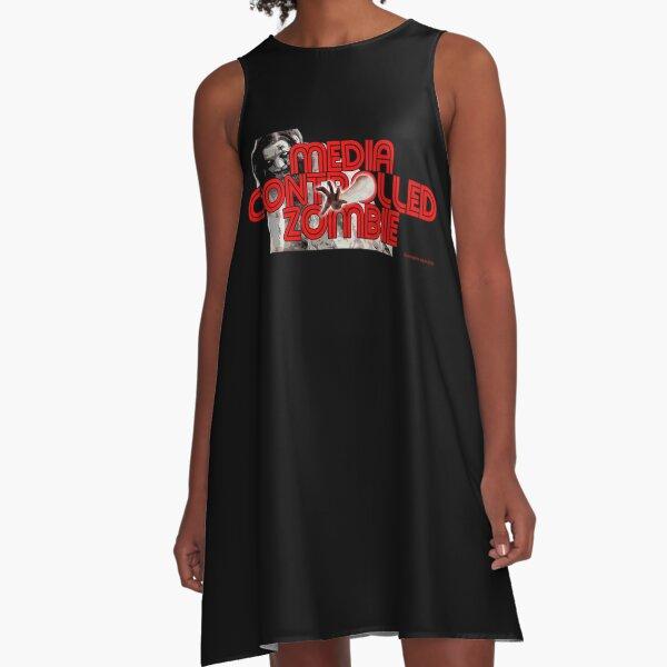 Media Zombies A-Line Dress