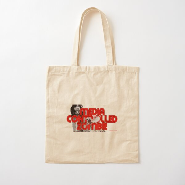 Media Zombies Cotton Tote Bag